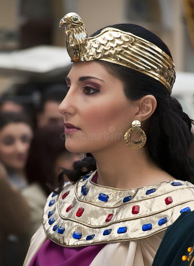 Cleopatra fotografie stock libere da diritti