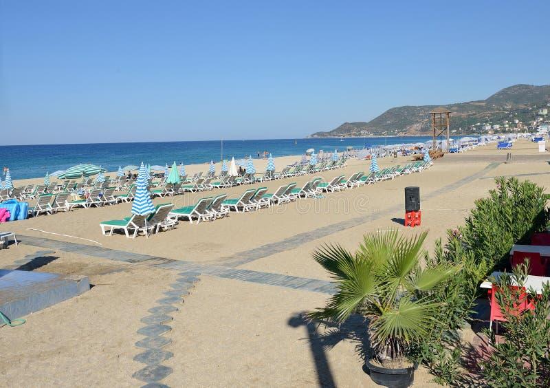 Cleopatra Beach of Alanya, Turkey. This is the Cleopatra beach of Alanya, Turkey royalty free stock photos