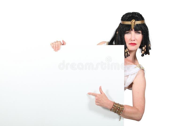 Cleopatra immagine stock