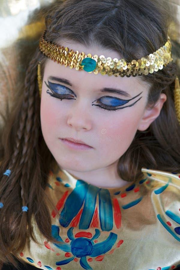 Cleopatra durmiente imagen de archivo