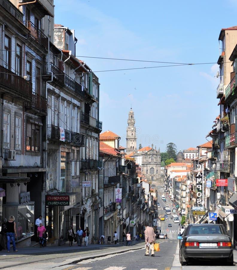 Clergé Church et tour - Porto images libres de droits