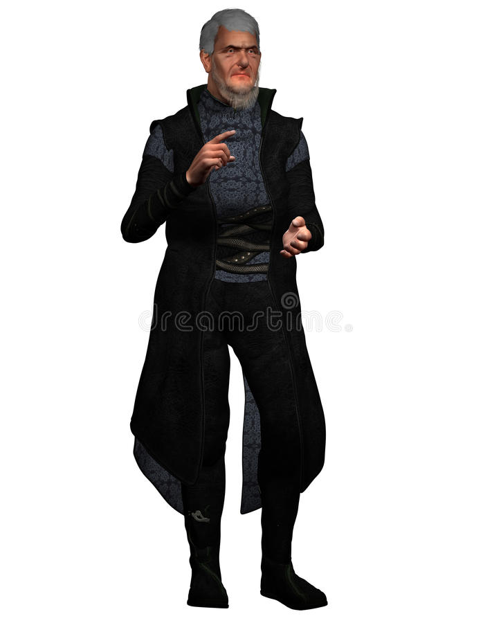 Clergyman rendered stock images