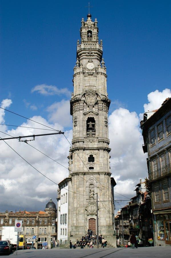 clerigos gör torre royaltyfria bilder
