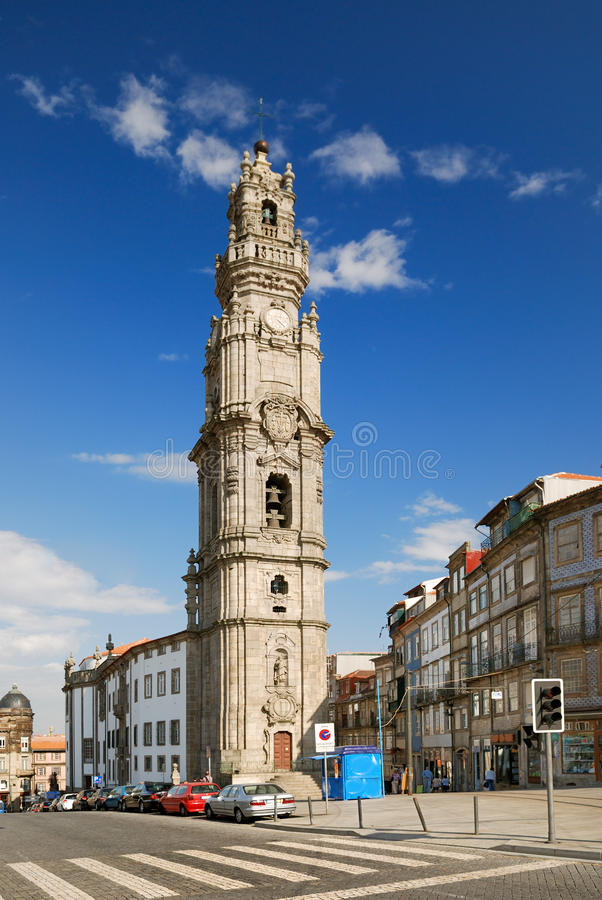 Download Clerigos Tower In Porto (Portugal) Royalty Free Stock Images - Image: 12193699