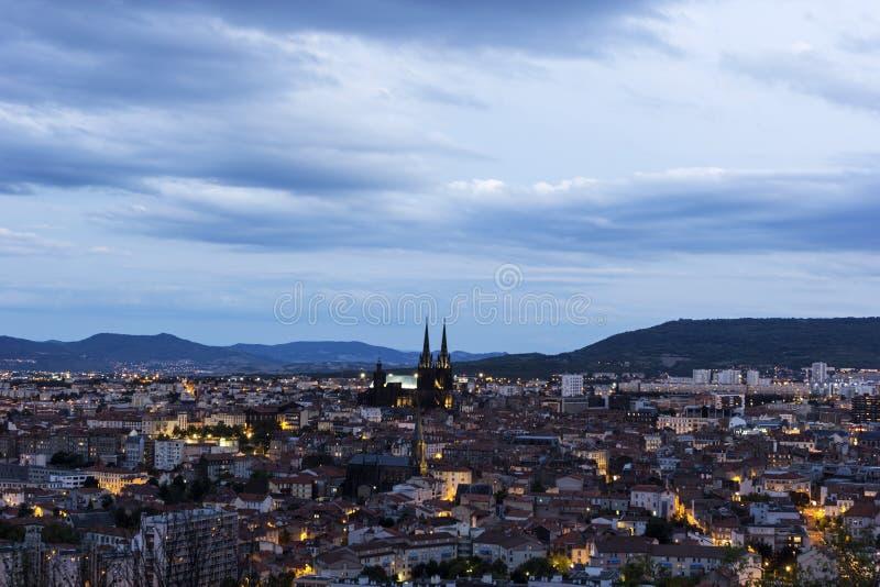 Clermont-Ferrand in Francia fotografia stock