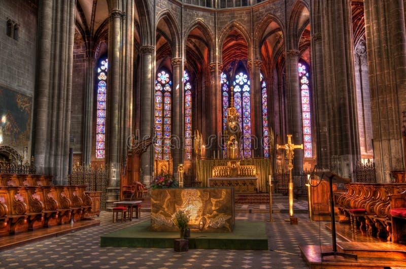 Clermont-Ferrand (HDR) fotografie stock