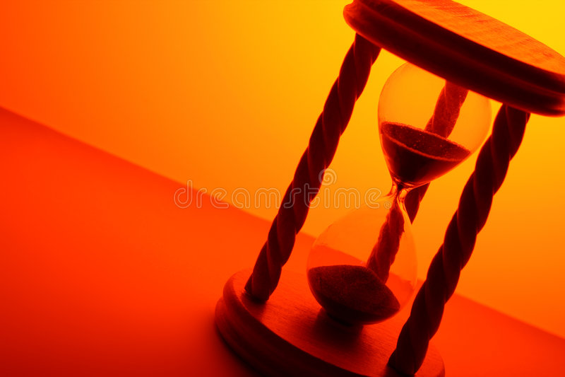 Clessidra immagine stock libera da diritti