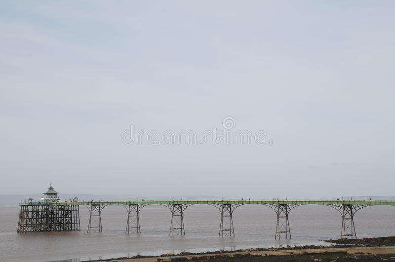 Download Clevedon Pier stock photo. Image of england, channel - 29184192