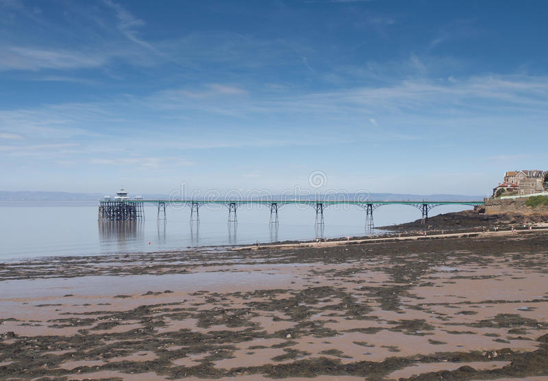 Clevedon Pier, Somerset, England royalty free stock photos