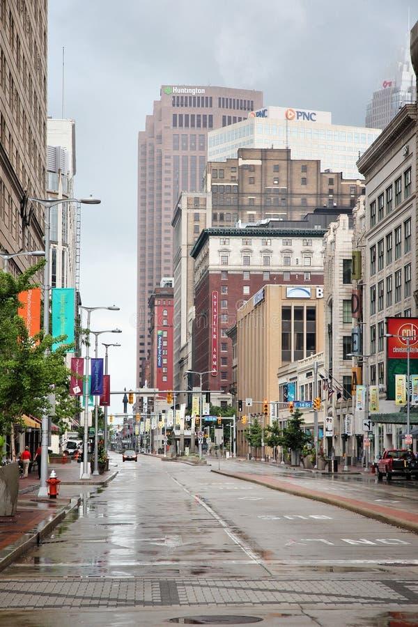 cleveland Огайо стоковое изображение rf