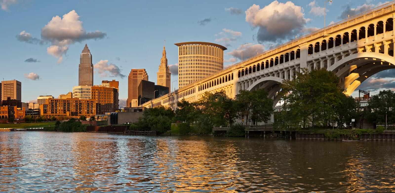 Cleveland photo stock