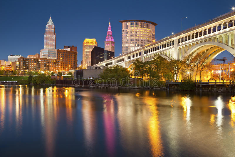 Cleveland images stock
