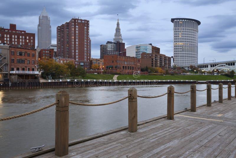 Cleveland. stockbilder
