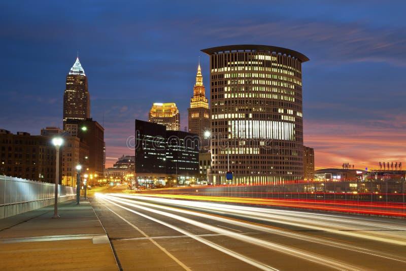 Cleveland. photo stock