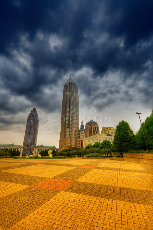 Download Cleveland stock photo. Image of pattern, overcast, storm - 6640892