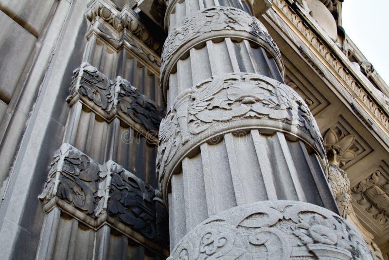 Cleveland architektury zdjęcia royalty free
