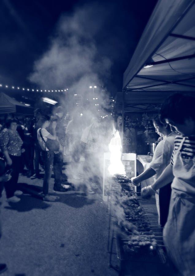 Cleveland Asia Town Night Market royalty-vrije stock fotografie