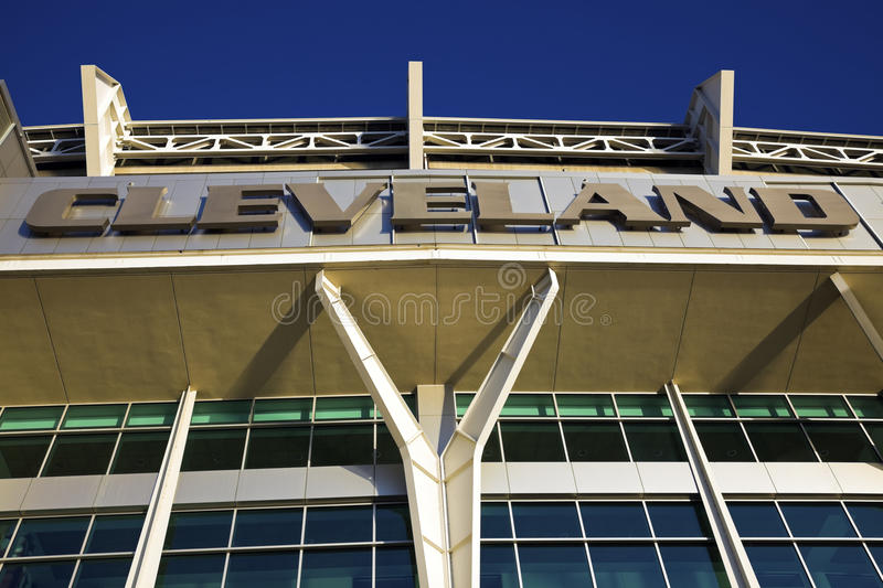 Cleveland Browns stadium royalty free stock images
