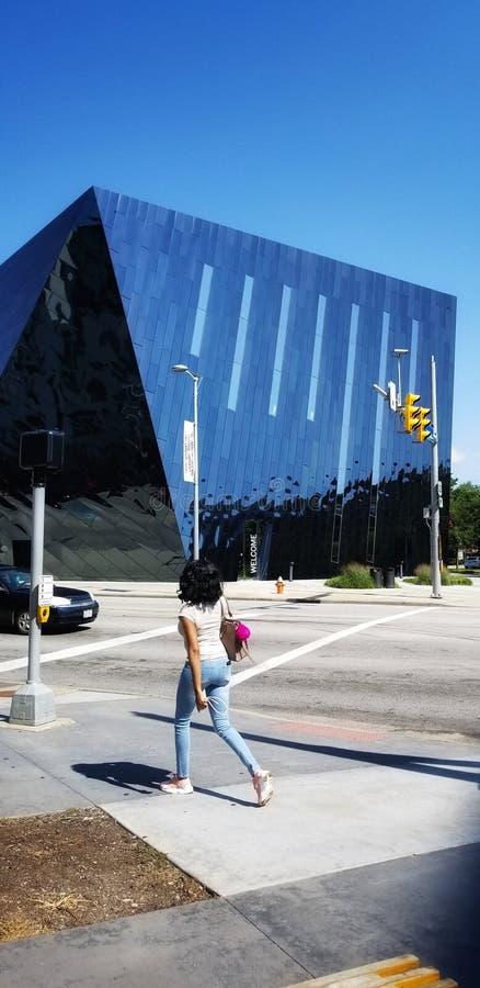 Cleveland Contemporary Art Museum photographie stock libre de droits
