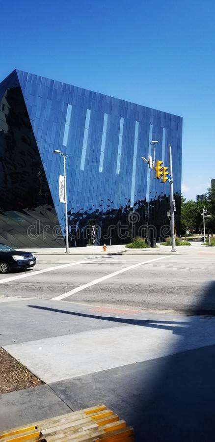 Cleveland Contemporary Art Museum fotografering för bildbyråer