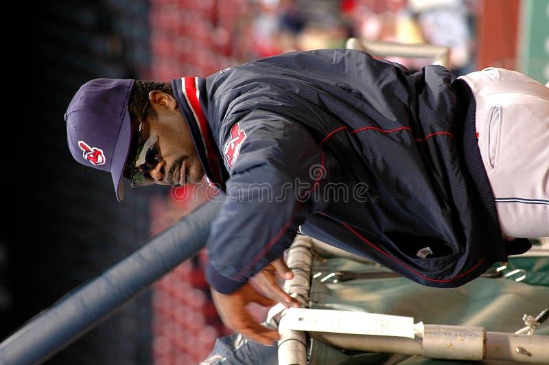 Cleveland Indians d'Eddie Murray photo libre de droits