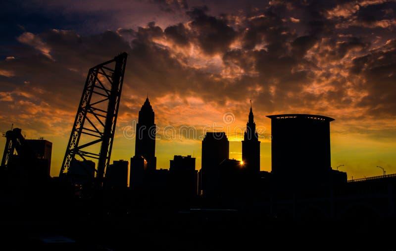 Cleveland Jest powodem fotografia royalty free