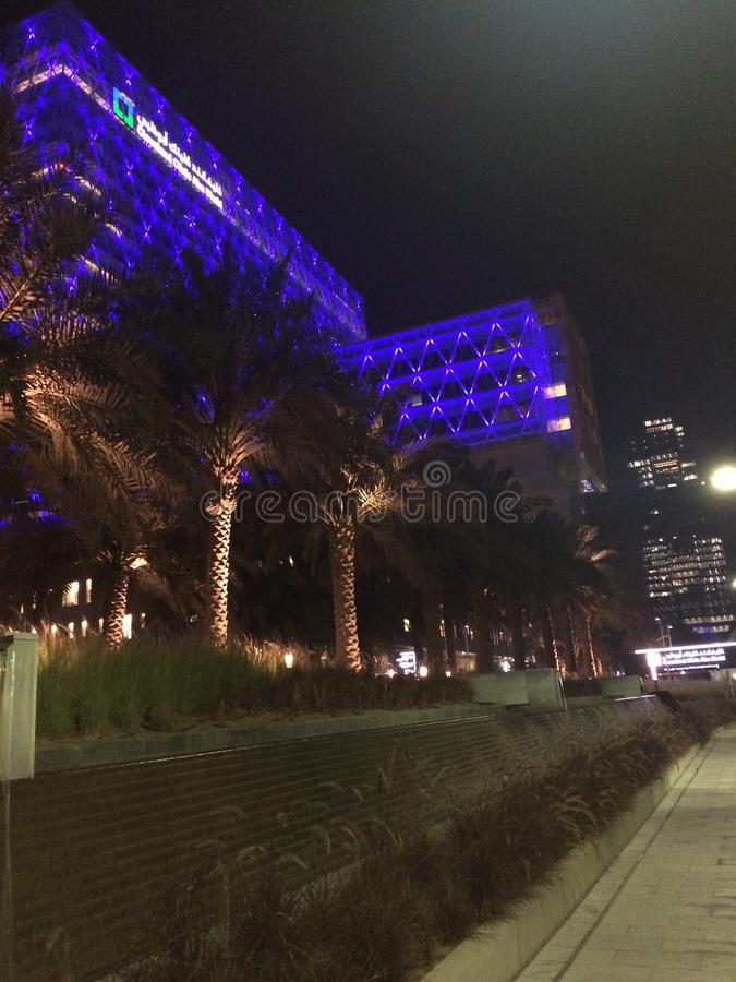 Cleveland klinik Abu Dhabi royaltyfria foton