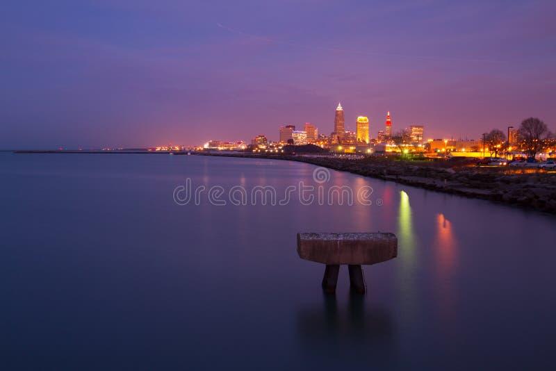 Cleveland który kocham obrazy royalty free