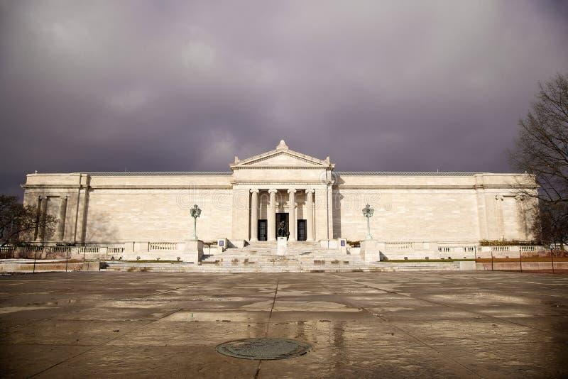Cleveland Museum av konst arkivbild