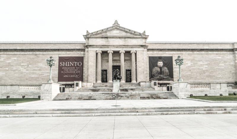 Cleveland Museum da arte foto de stock