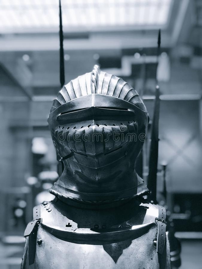 Cleveland Museum van Kunst - Armor Room - het Verhaal van een Ridder royalty-vrije stock afbeelding