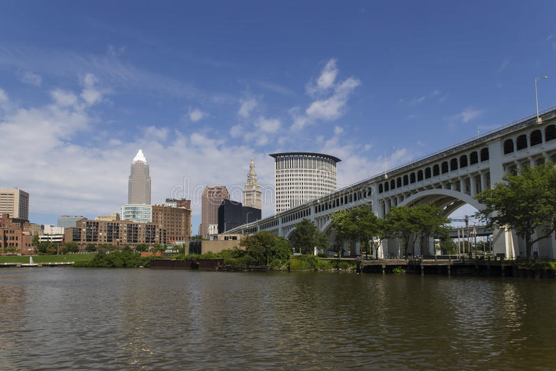 Cleveland, OH zdjęcia royalty free