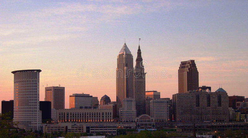 Cleveland Ohio royalty free stock photo