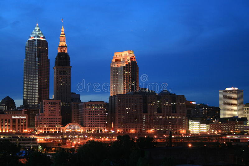 Cleveland Ohio fotos de stock