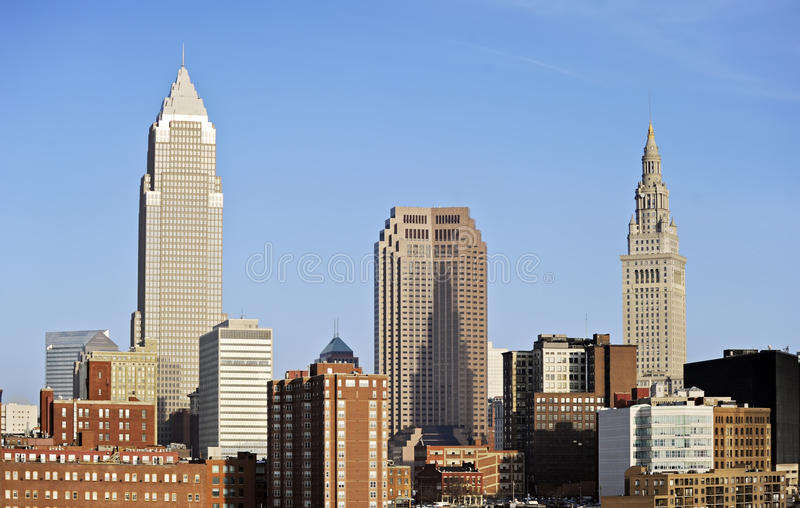 Cleveland, Ohio stockfotos