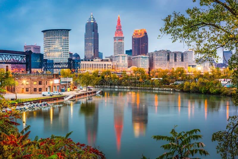 Cleveland, Ohio, Etats-Unis images libres de droits