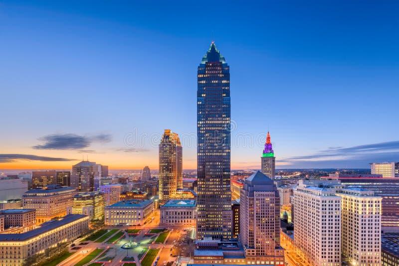 Cleveland, Ohio, Etats-Unis images stock