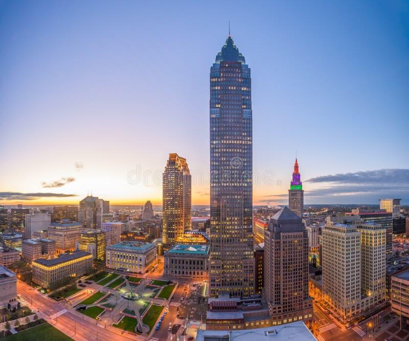 Cleveland Ohio USA royaltyfria bilder