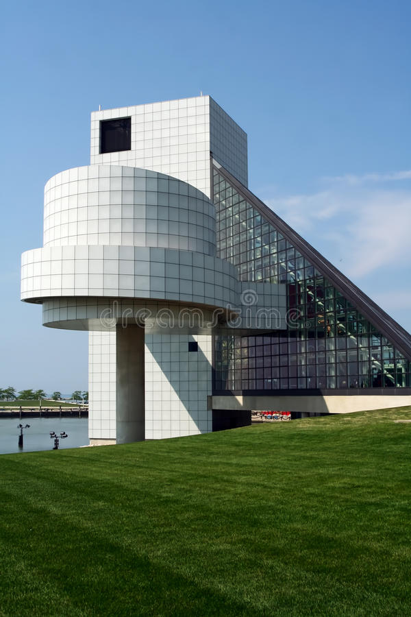 Download Cleveland Rock And Roll Hall Of Fame Stock Photo - Image: 21040586