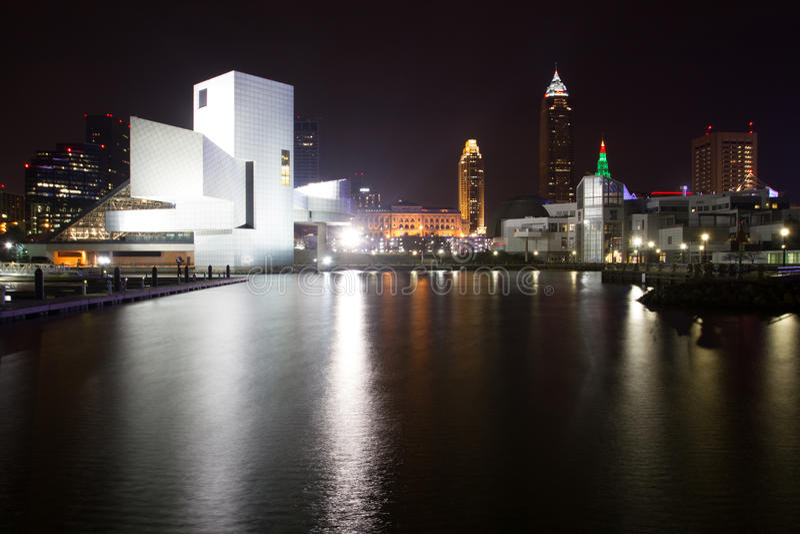 Cleveland Rocks stockfoto
