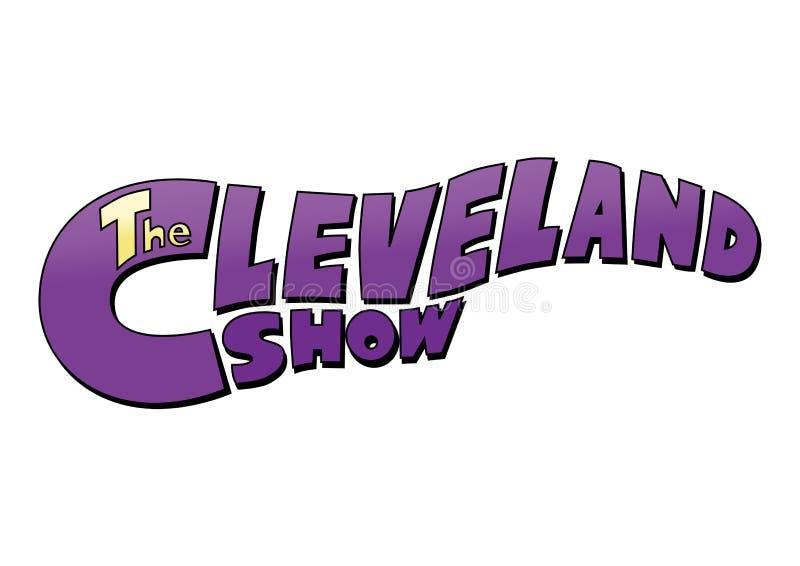 Cleveland Show Logo ilustração do vetor