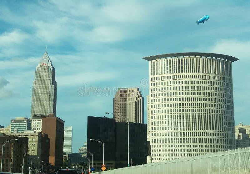 Cleveland-Stadt stockfotografie