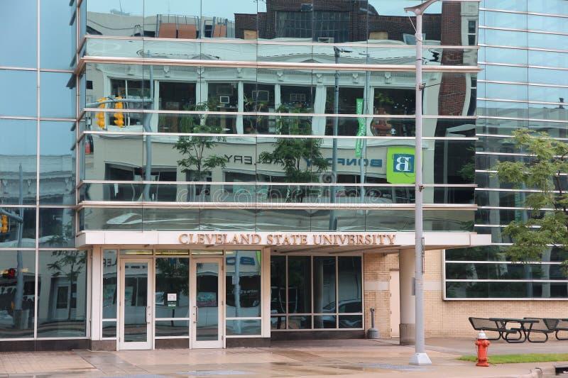 Cleveland State University arkivbild