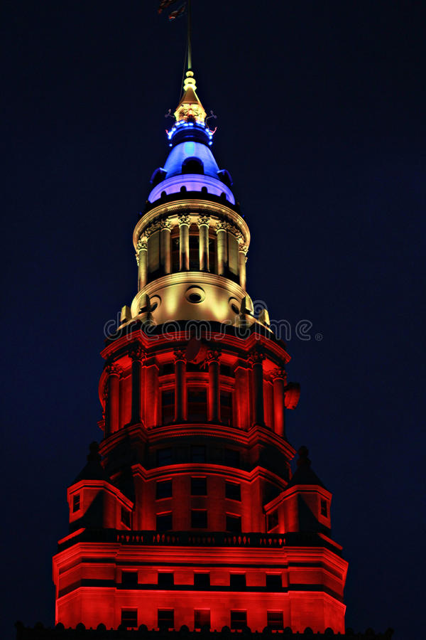 Clevelands slutliga torn arkivfoto