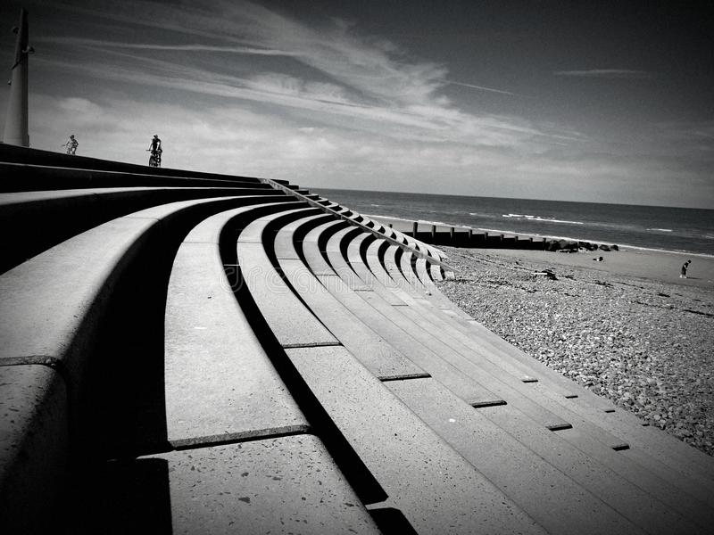 Download Cleveleys Promenade stock image. Image of seaside, holiday - 49254633