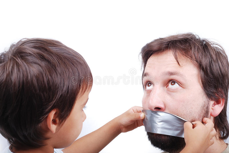 Download Clever son stock image. Image of face, parents, bully - 10113839