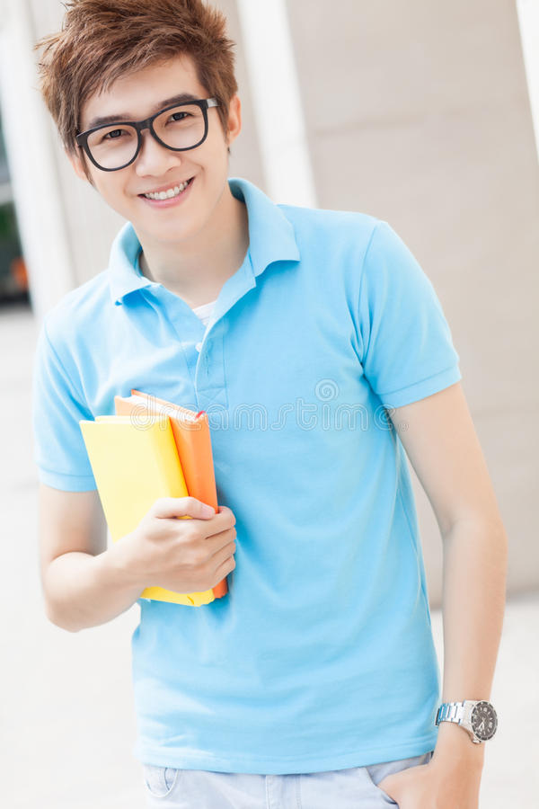 Download Clever teenager stock photo. Image of outside, high, happy - 26786356