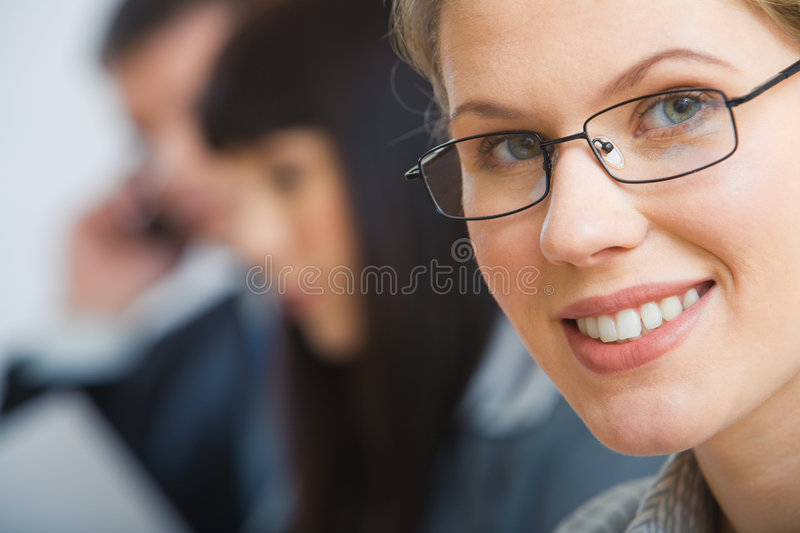 Clever Woman Stock Photo