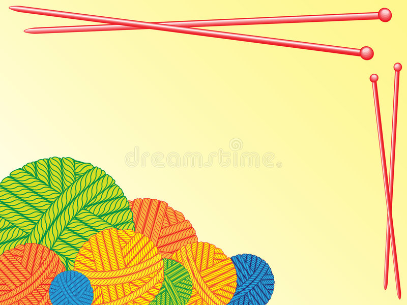 Download Clew stock illustration. Image of rope, objects, winter - 6296885
