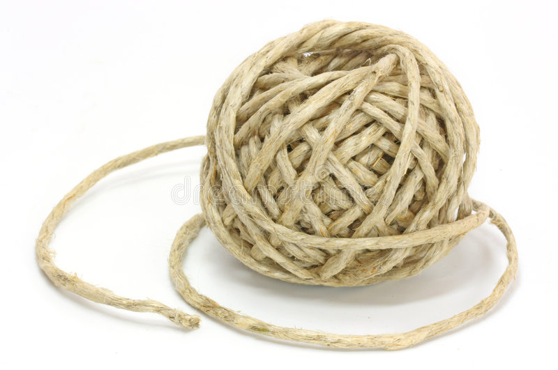 Clew da corda imagens de stock